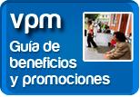 Guía de beneficios y promociones VPM