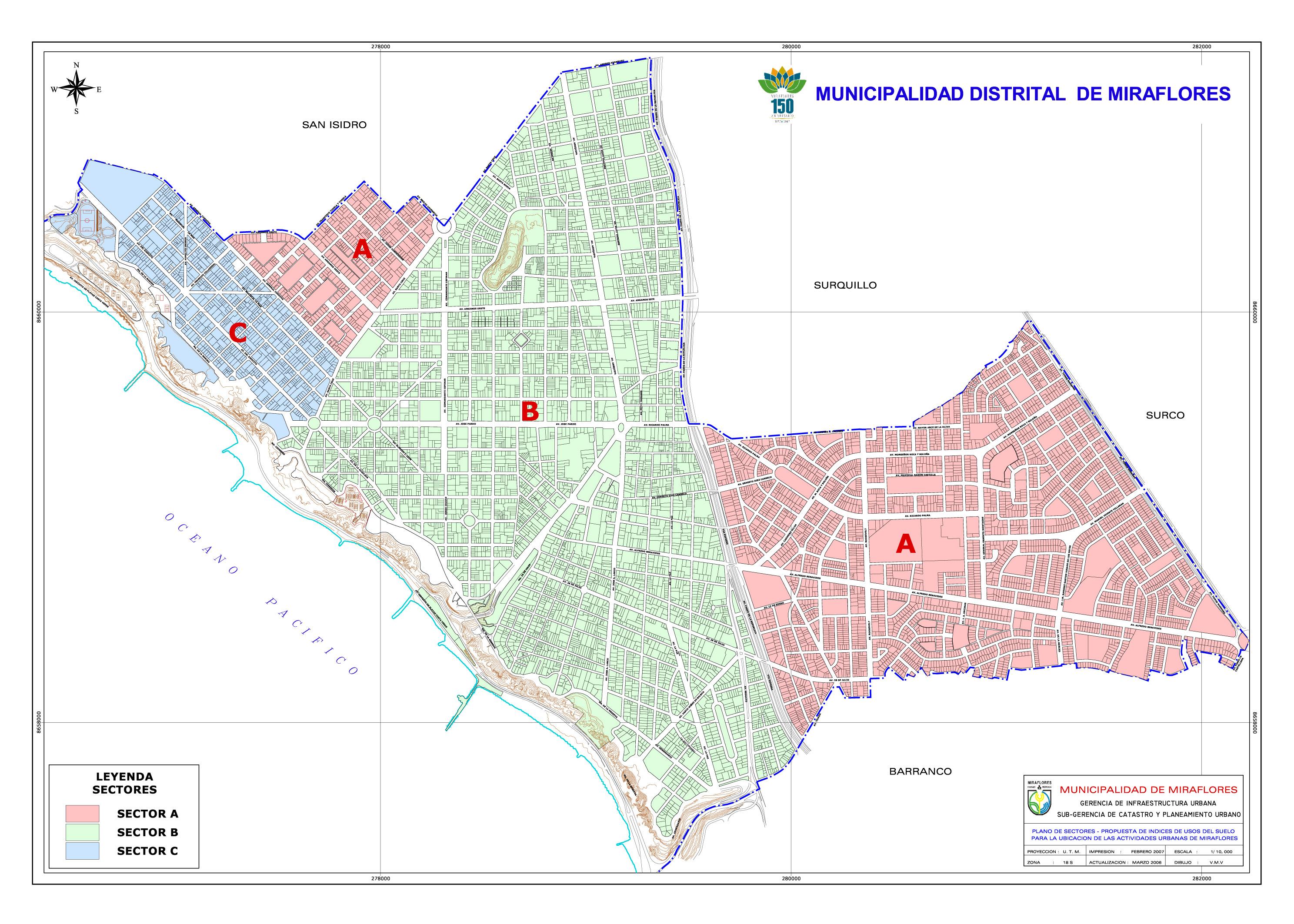 Comercializaci n planos reguladores de sectores y for Villa jardin lanus oeste