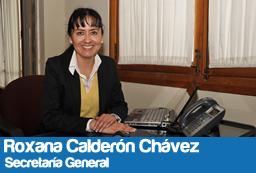 Roxana Consuelo Calderon Chavez.
