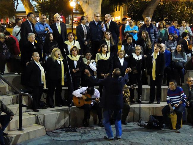 Coro Polifónico @ Anfiteatro Chabuca Granda