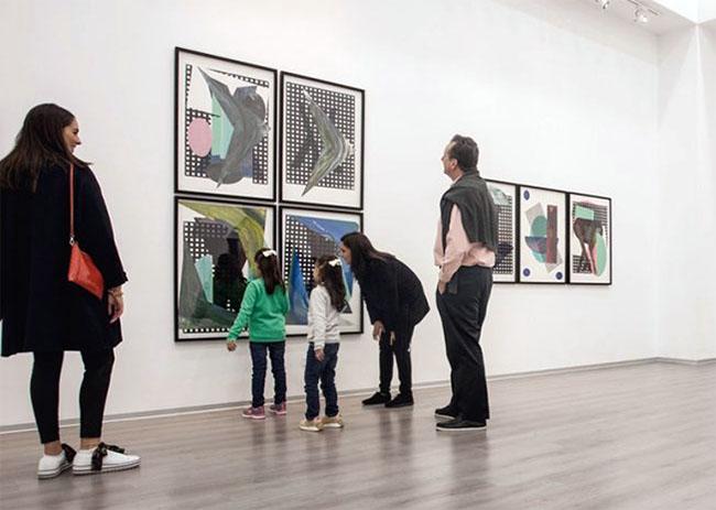 2da visita guiada en marco del evento Gallery Weekend @ Sala Raúl Porras Barrenechea del Centro Cultural Ricardo Palma