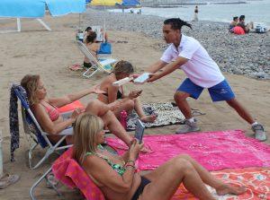 Lectura en playa @ Playa Redondo I