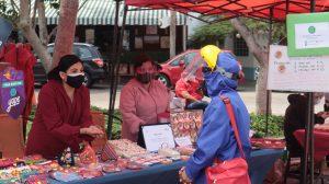 Artesanía en el Mercado Itinerante de Miraflores