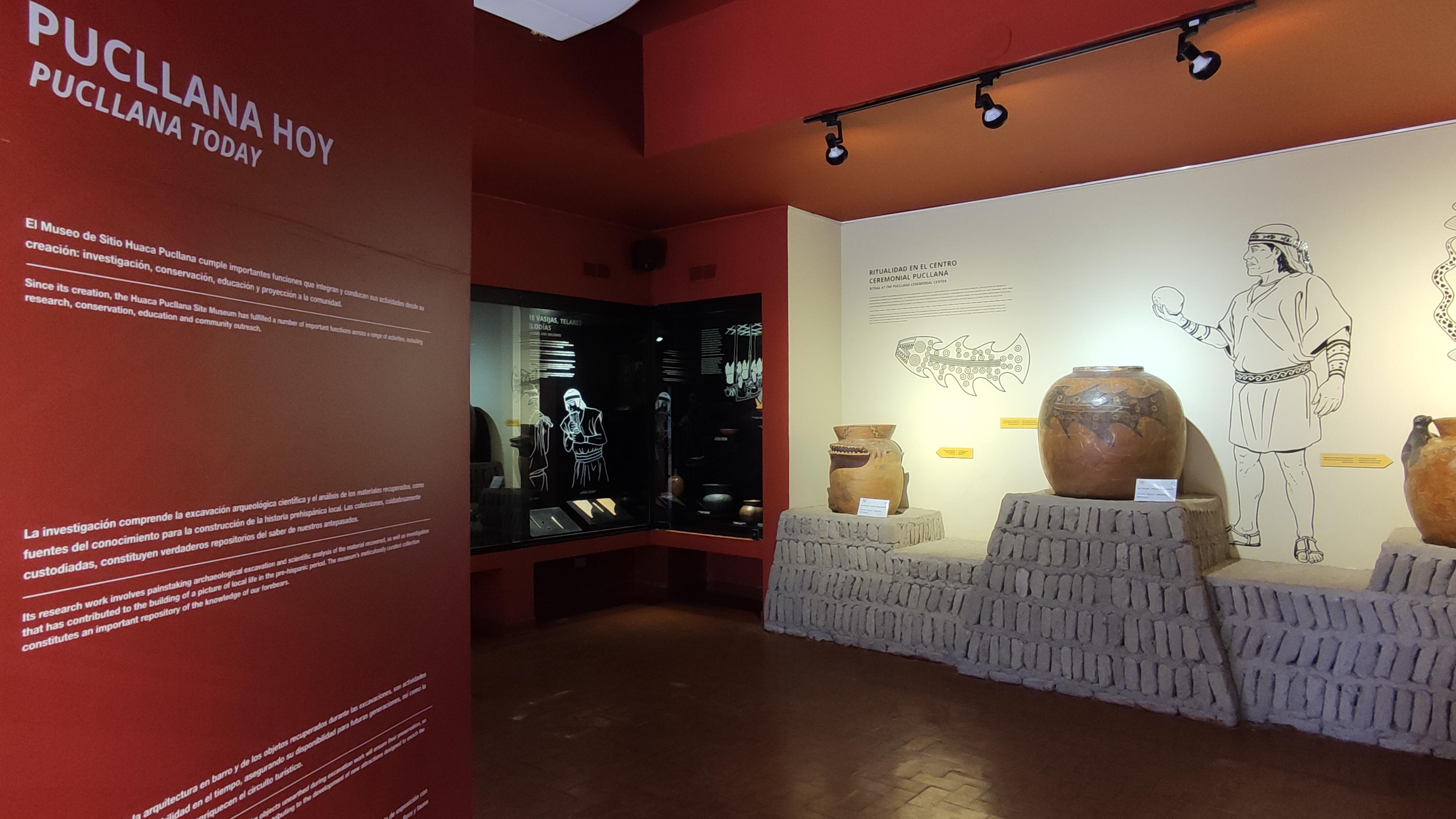 """Inauguración de exposición """"Pucllana: 40 años recuperando nuestra historia ancestral"""" @ Pasaje de los Pintores – Parque Central de Miraflores"""