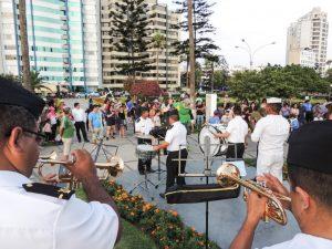 Concierto de la Banda de la Marina de Guerra del Perú @ Parque Central
