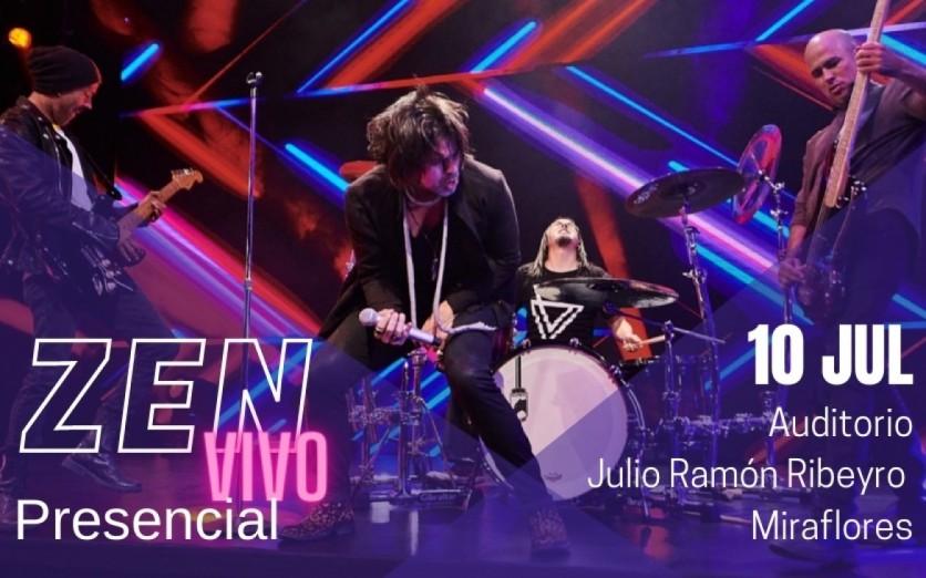 Concierto de Zen @ Auditorio Julio Ramón Ribeyro – en vivo streaming